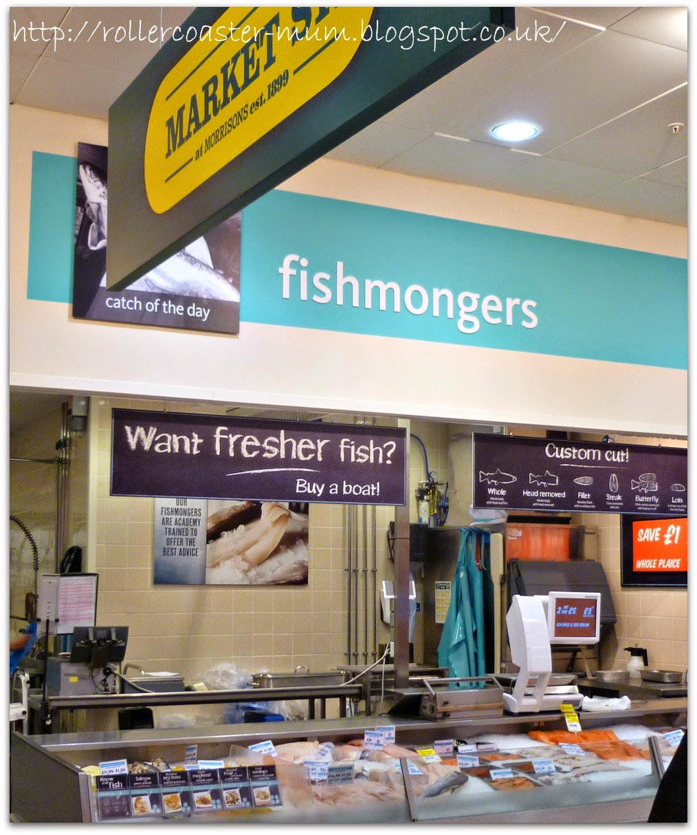 Fresh fish from Morrisons #MorrisonsMum