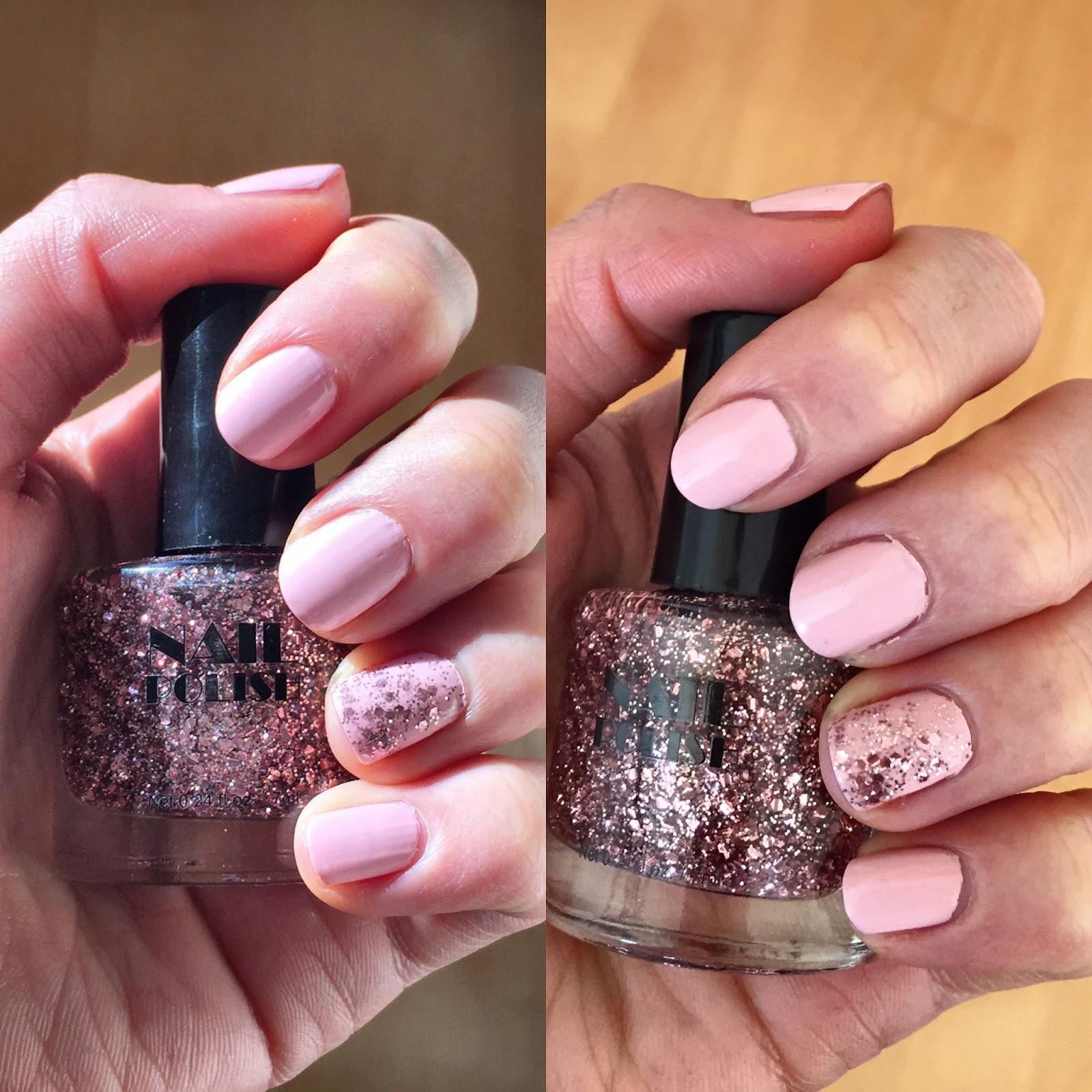 Pink Glitter - H&M Nagellack?! | Jenseits von Eden