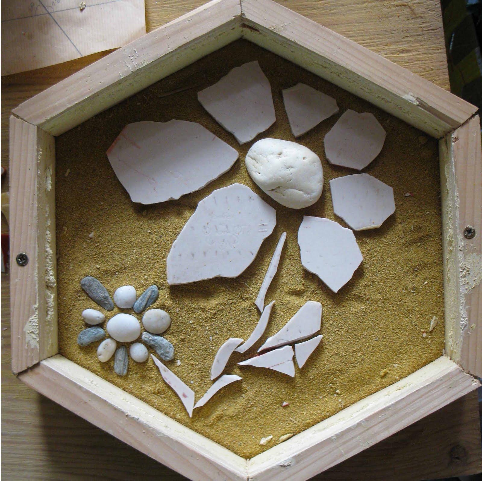 Amazing Fabriquer Des Pas Japonais #12: Mortier : 4 Doses De Sable Pour 1 Dose De Ciment Blanc, Et De Lu0027eau Jusquu0027à  Obtenir Une Texture Lisse Mais Pas Trop Humide