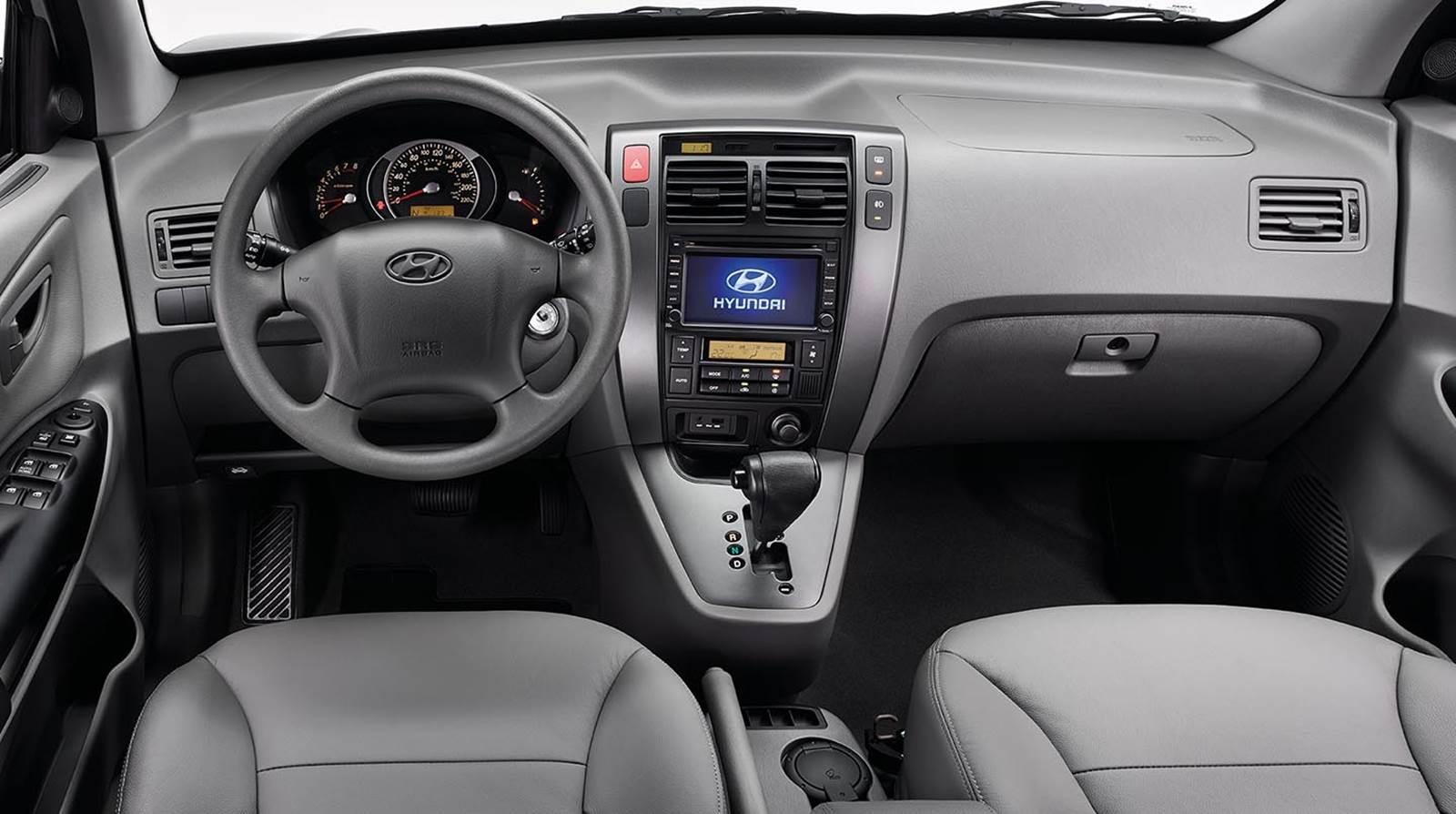 Hyundai Tucson 2016 2.0 Flex - Interior
