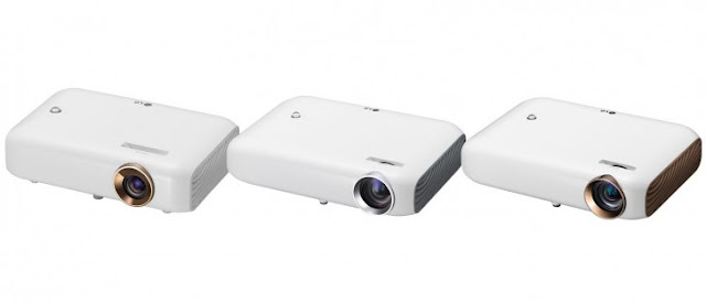 LG Mini Beam Portable Projectors Coming at CES 2016
