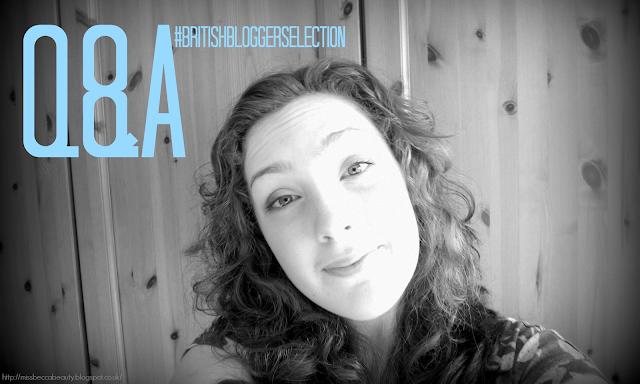 Q&A #BritishBloggerSelection