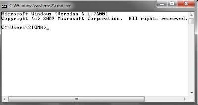 111 MySQL dengan menggunakan Command Prompt (CMD)