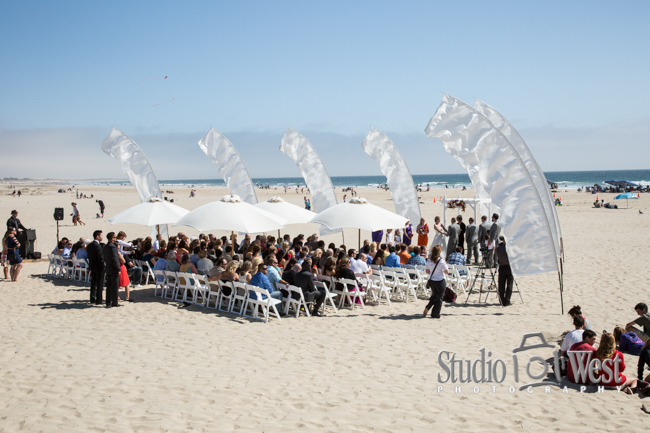 Wedding on the sand