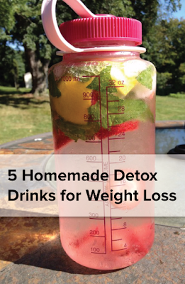 5 Homemade Detox Drinks for Weight Loss
