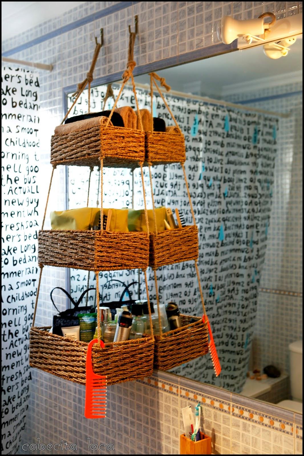 Proyecto DIY cestas colgantes