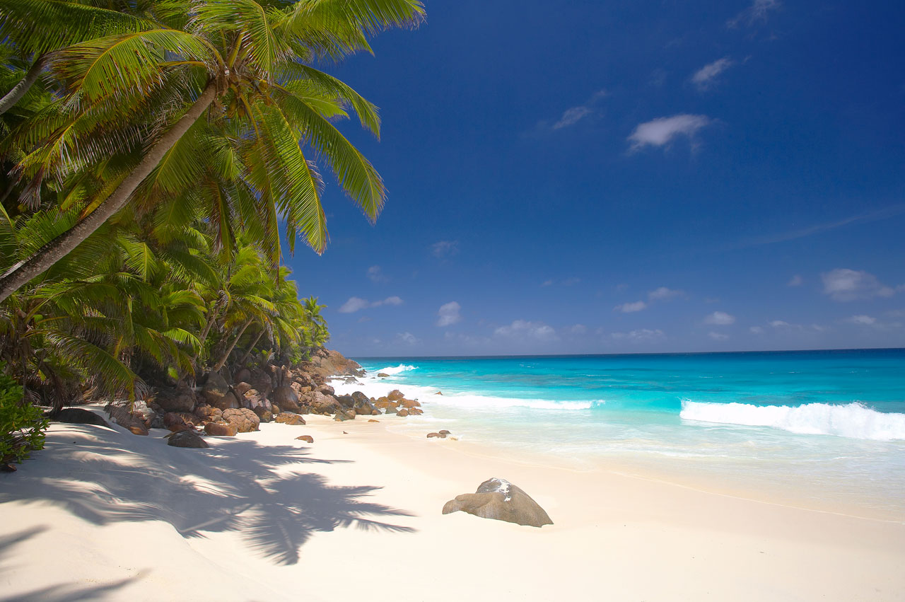 Seychelles beautiful island with top beaches world for Beautiful beaches in la