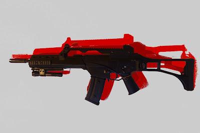tien airsoft gun G 36