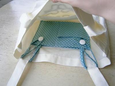 Ecobag original com bolso em tecido