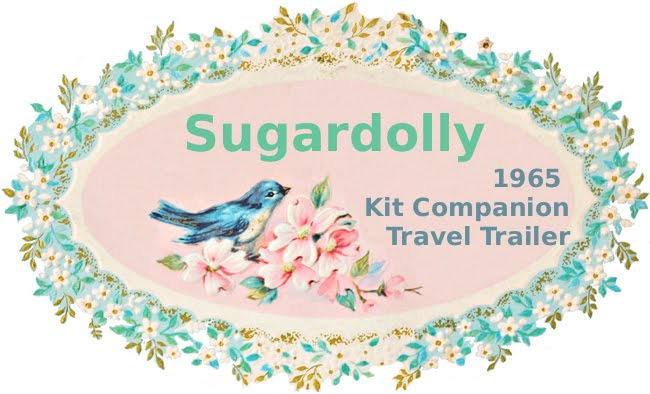 Sugardolly - 1965 Vintage Kit Companion Trailer