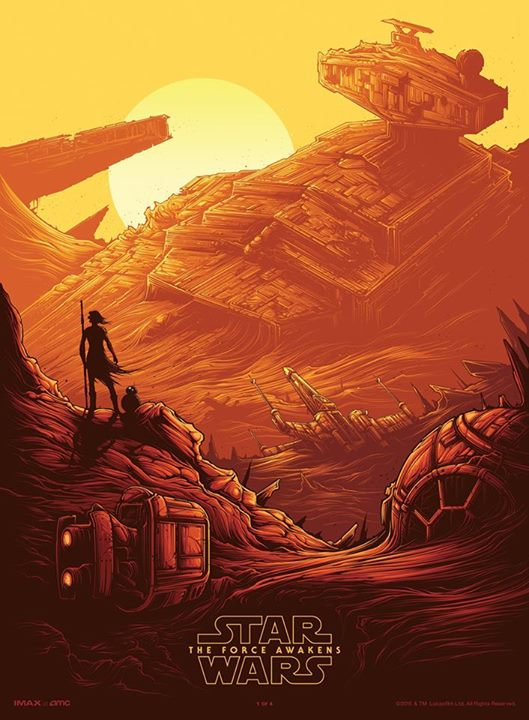 'Star Wars: The Force Awakens' Official IMAX Poster