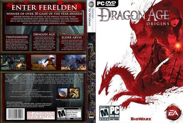 أحصل على لعبة المغامرات DRAGON AGE بالمجان