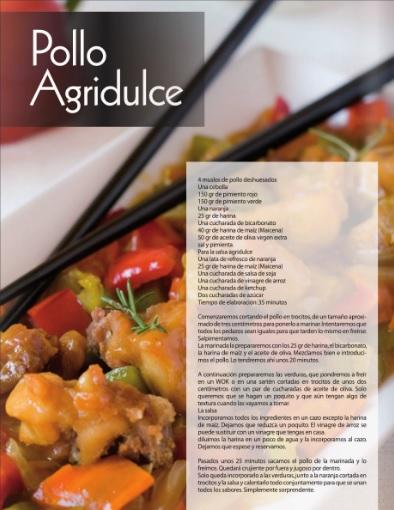 Recetas de cocina y reposteria pollo agridulce for Cocina y reposteria
