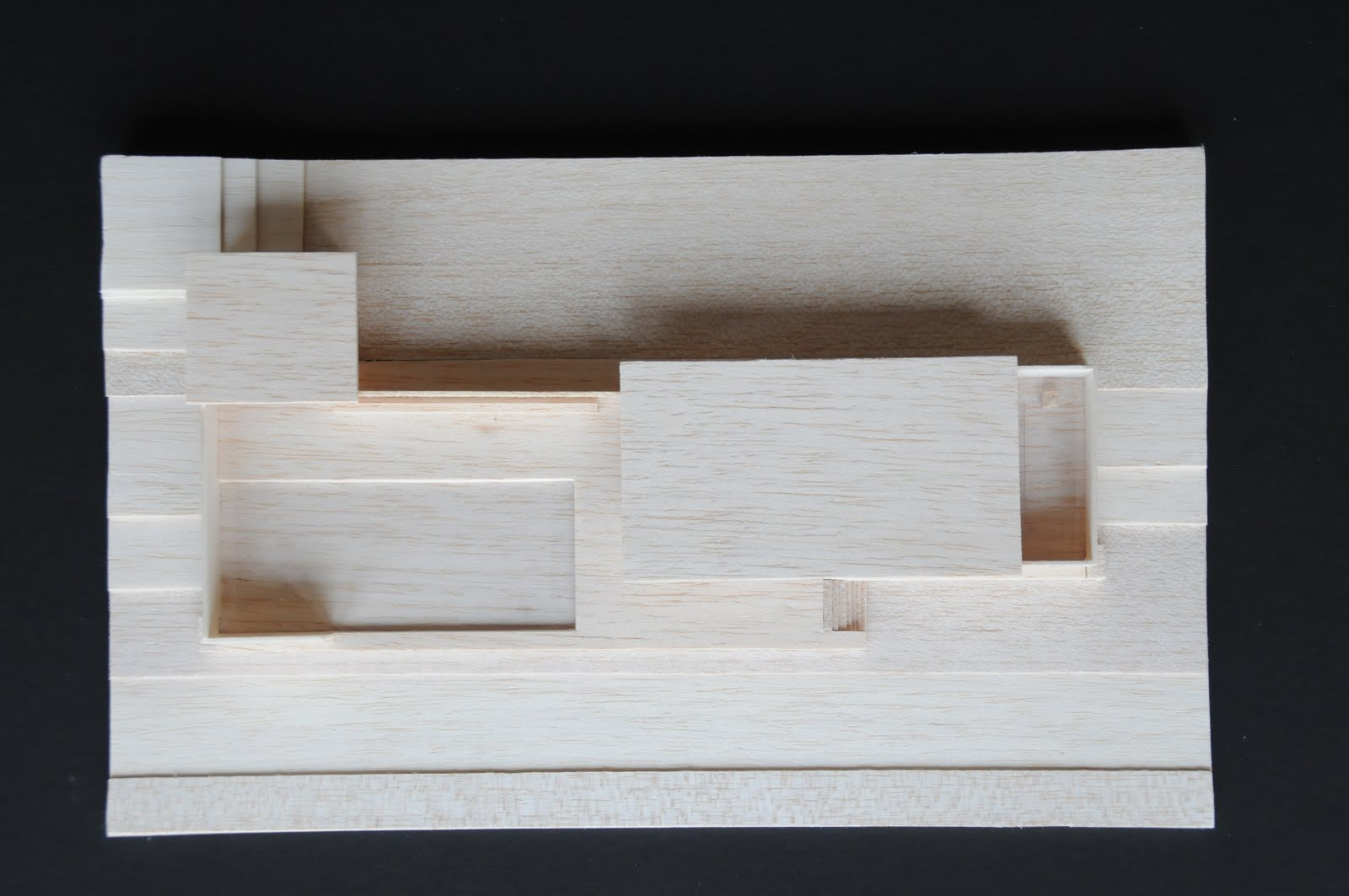 This Is A Model Of The Barcelona Pavilion (at 1:200) By Ludwig Mies Van Der  Rohe. This Building Is Simplistic In Its Rectilinear Form, And Reflects An  Open ...