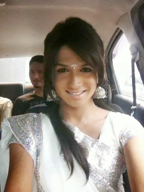 Nair Sarisha Crossdressing Model