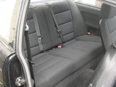 Задние сиденья в купе BMW e36