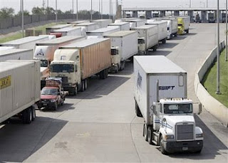 Truckers-passing-through-a-speedy-passage