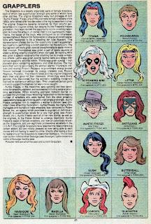 Luchadoras (ficha marvel comics)