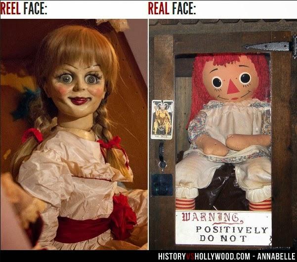 Kisah Boneka Annabelle di Kehidupan Nyata