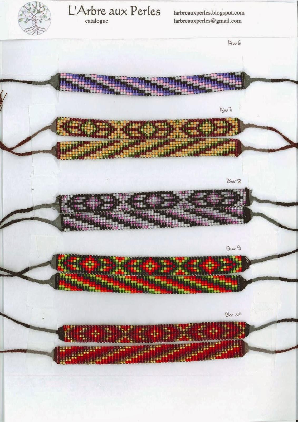 l 39 arbre aux perles bracelets toho catalogue 1 4 collection blackwood. Black Bedroom Furniture Sets. Home Design Ideas