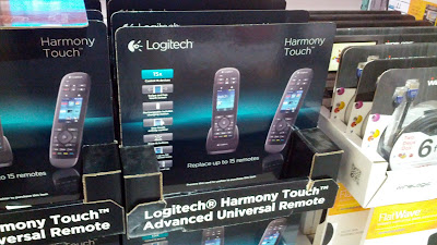 The Logitech Harmony Touch Advanced Universal Remote makes controlling your devices easy