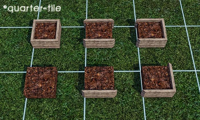 Gelina 39 s sims 3 blog modular planter boxes for Indoor gardening sims 4