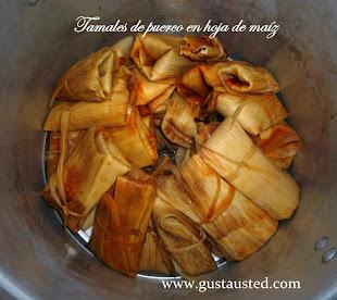 Tamales para el Dia de Muertos
