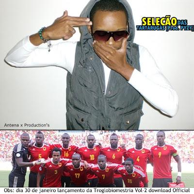 Rap Angolano - Troglobio MC  - Seleção das Tartarugas (Prod. Pyzy)