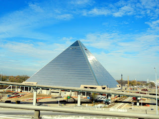 The Memphis, TN pyramid