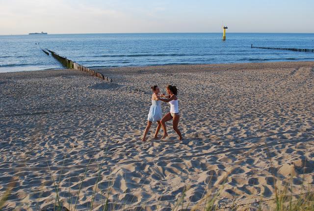 cadzand beach, holland , north sea, siaures jura