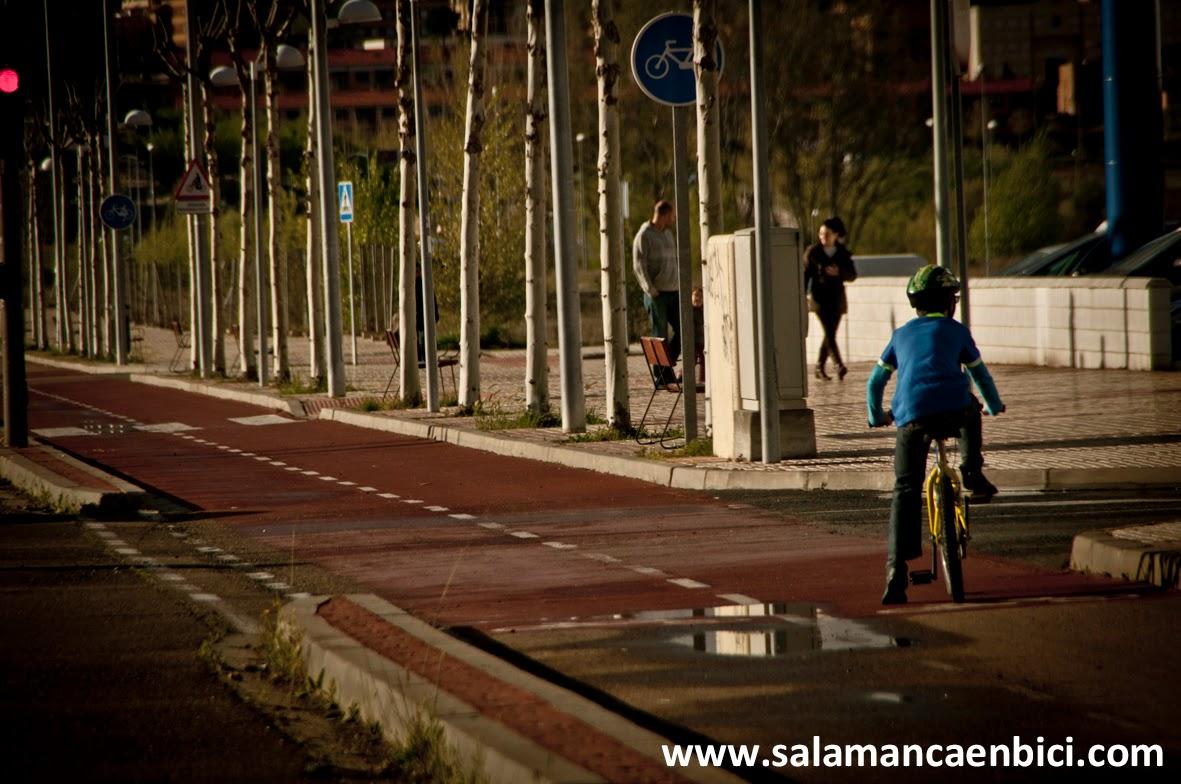 salenbici carril bici salamanca