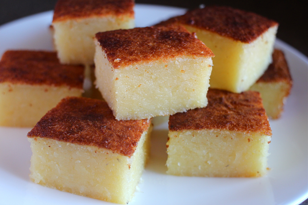 Manioc flour cake recipes