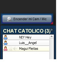 CHAT ONLINE CATOLICO