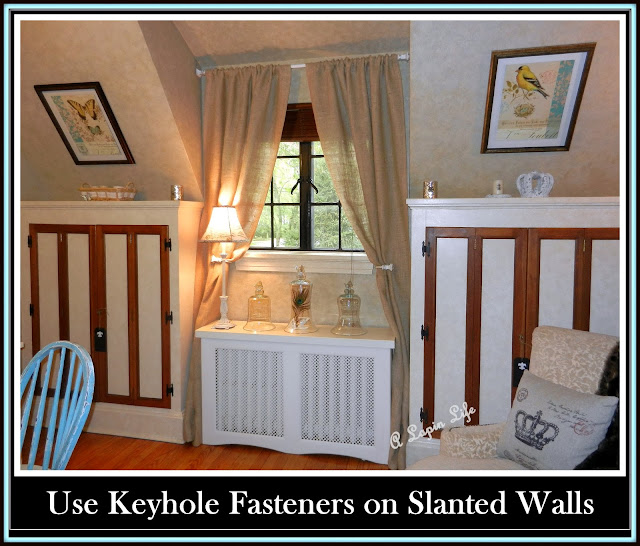 A Lapin Life: How to Decorate Slanted Walls?
