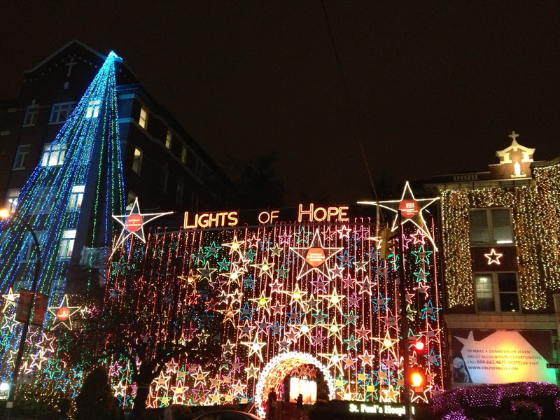 Festive Lights of Hope Vancouver