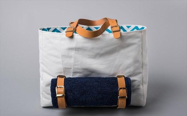 H Salty Bag ξεκίνησε το ταξίδι της το 2013 από την Κέρκυρα με ένα πολύ  συγκεκριμένο και μοναδικό concept  την κατασκευή τσαντών 3129a44dcef