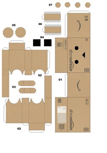 gambar_cara_membuat_danbo_papercraft_robot_lucu