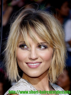 Dianna Agron new bob haircut