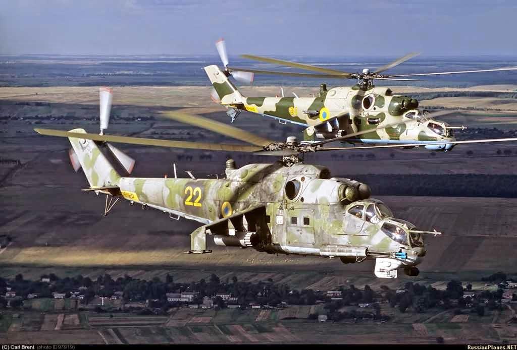 Из Ми-24 этой бригады по