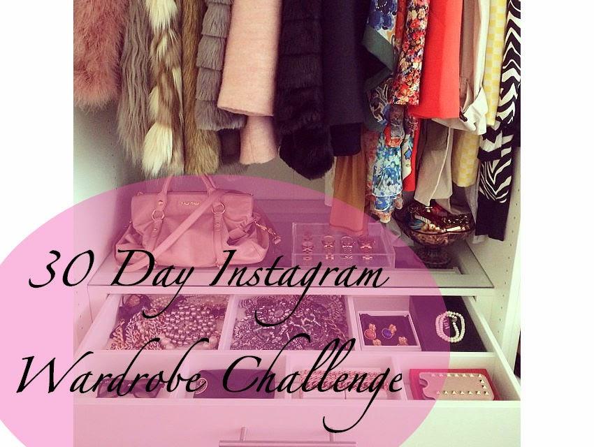 30 Day Wardrobe Challenge