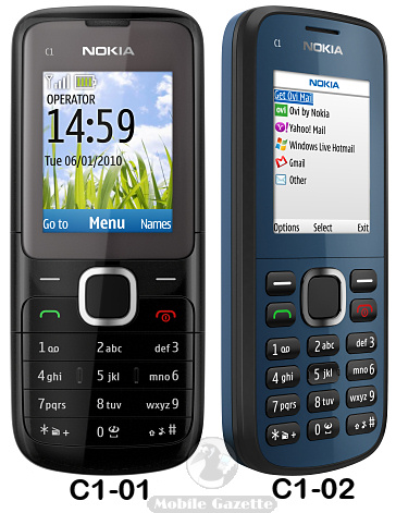 Mobile Price in Pakistan: Nokia C1-01