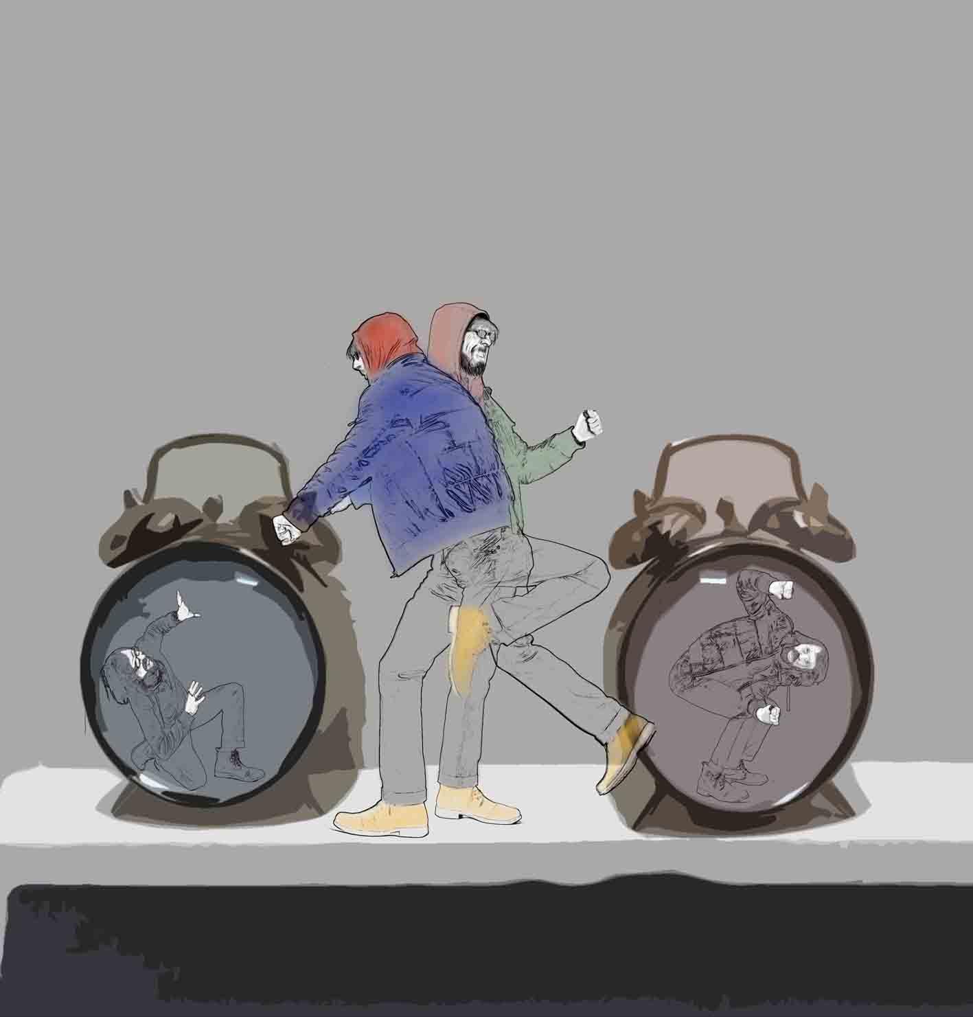 Rompiendo las reglas del tiempo.