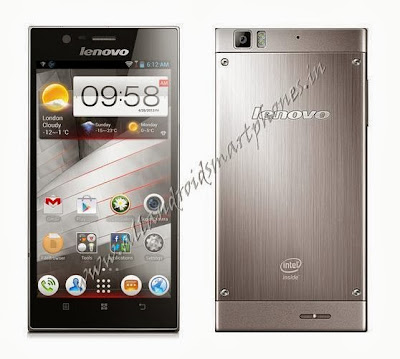 Lenovo K900 Android 5.5 inches Phablet Front and Back Photo & Image Review