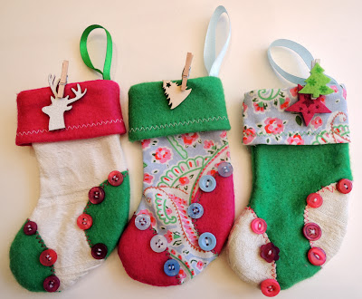 Simbie Yau Mini Christmas Stocking Decoration