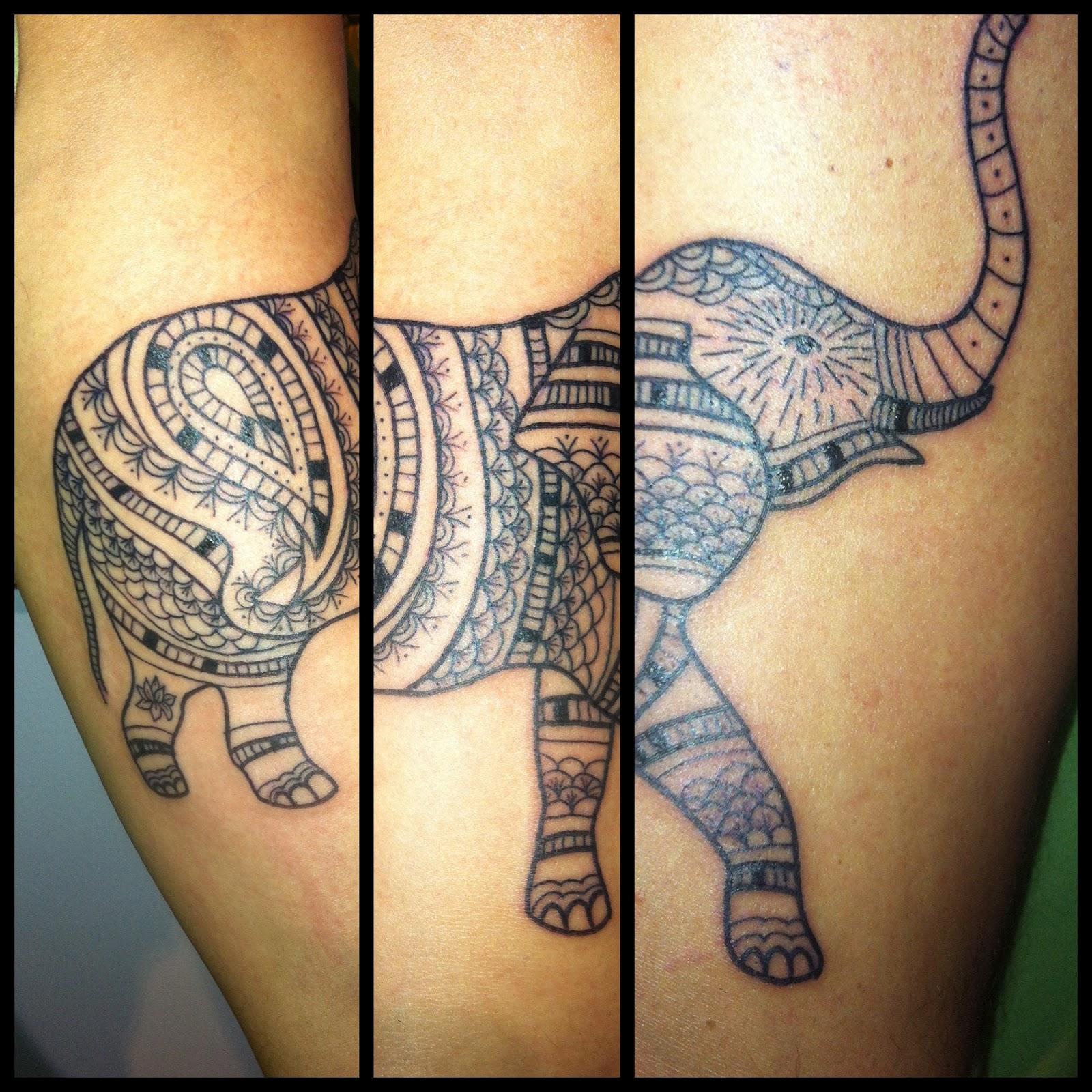Elephant tattoo meaning - photo#28