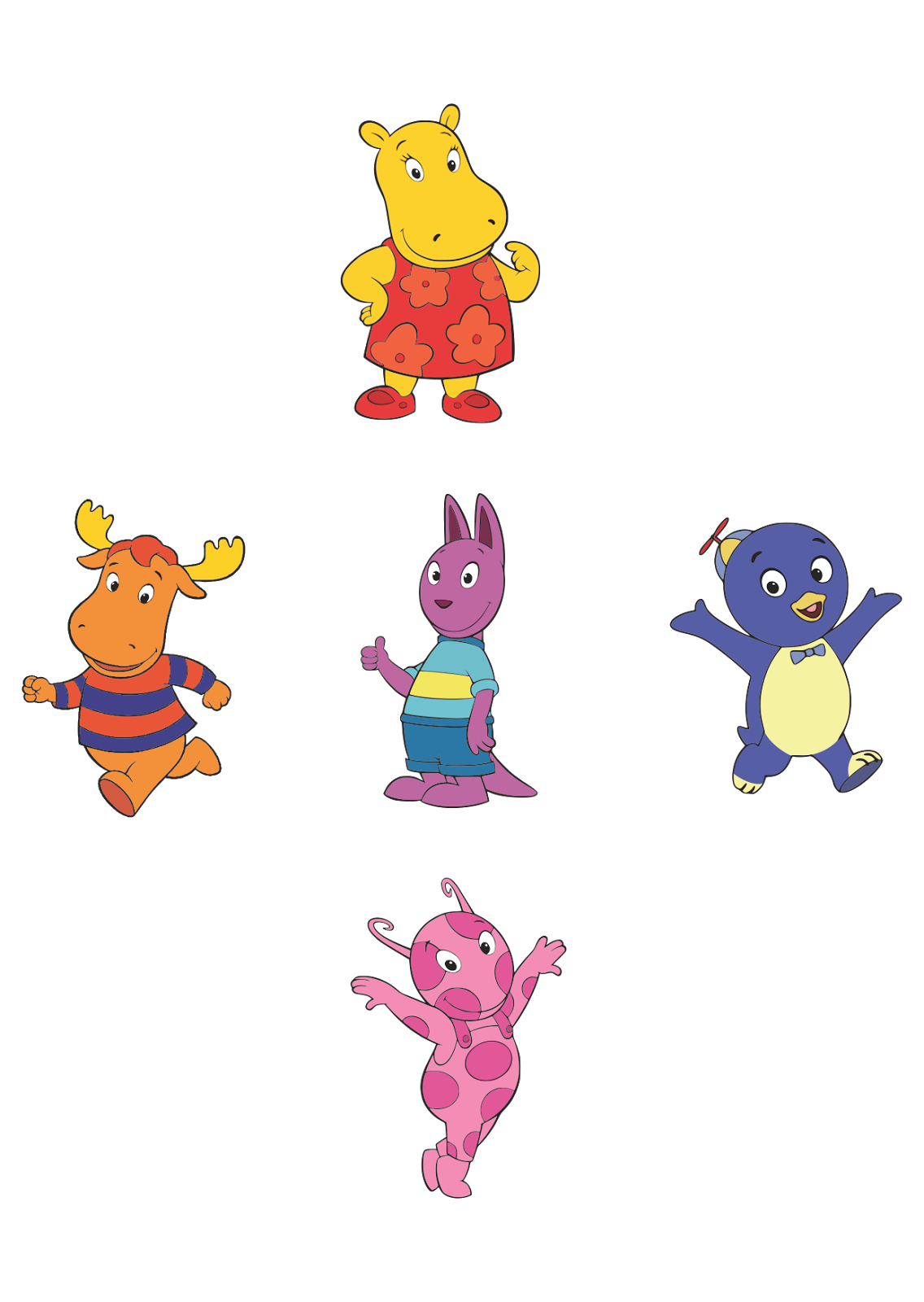 The Backyardigans Logo Vector download free