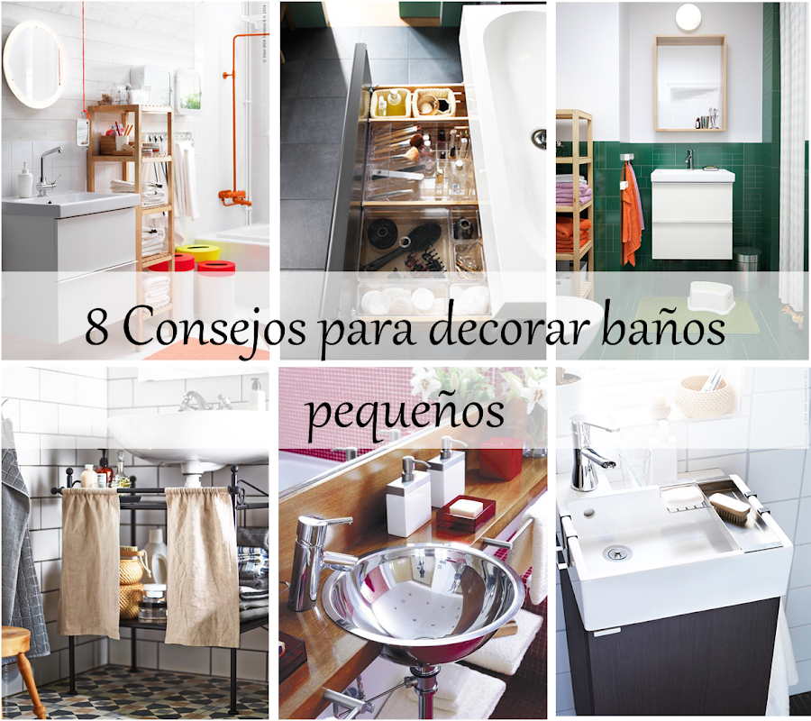 Consejos para ba os for Decoracion de pared para banos pequenos