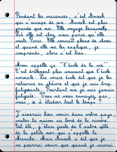 [PS épistolaire] Margotte à Lyam - 9 août 2014, p.4 Lettre2