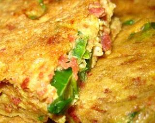 Savoury Crispy Pancake Martabak Telor