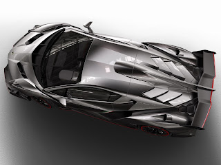Lamborghini Veneno top view
